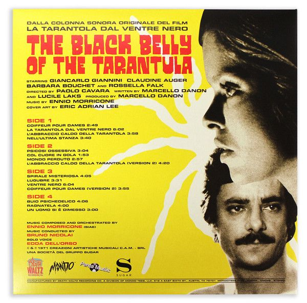 Ennio Morricone - The Black Belly Of The Tarantula (Original Motion Picture Soundtrack)