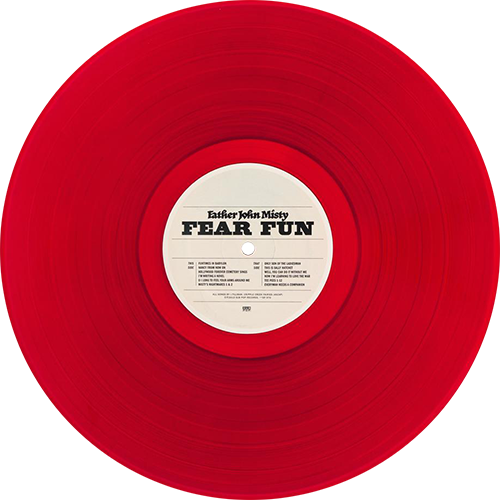 Father John Misty Fear Fun Colored Vinyl