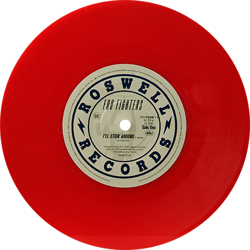 Foo Fighters I Ll Stick Around Colored Vinyl