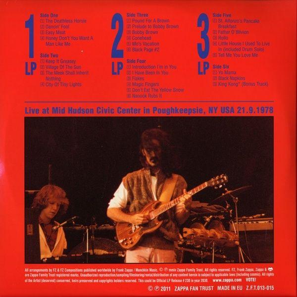 Frank Zappa - In Poughkeepsie