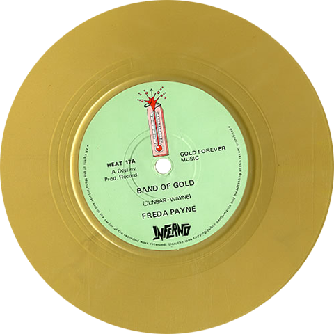 Freda Payne Band Of Gold Colored Vinyl