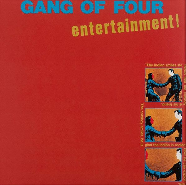 Gang Of Four Entertainment Colored Vinyl