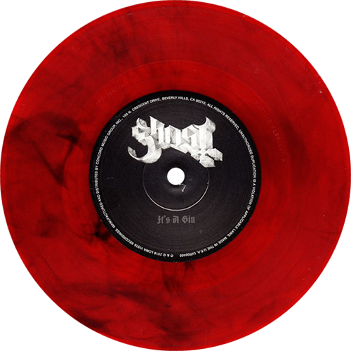 Ghost Prequelle Colored Vinyl