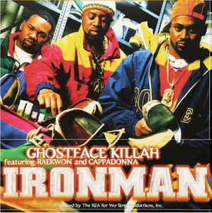 Ghostface Killah Ironman Colored Vinyl