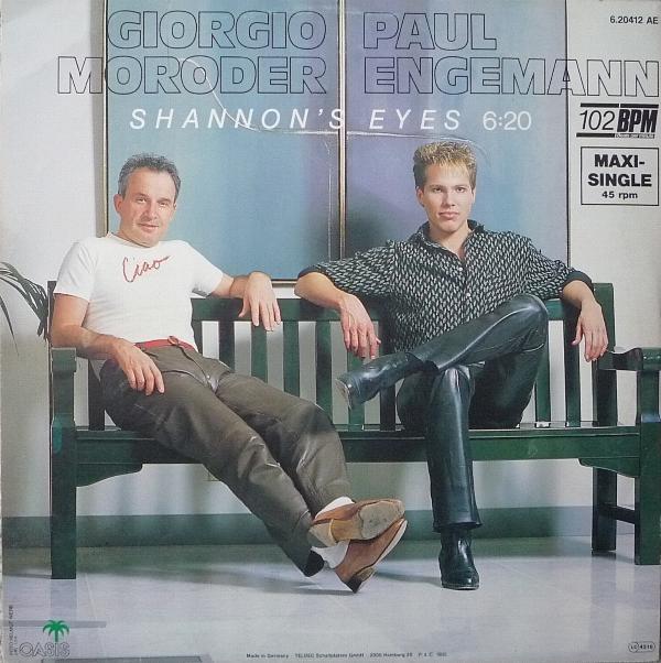 Giorgio Moroder Amp Paul Engemann Shannon S Eyes Colored