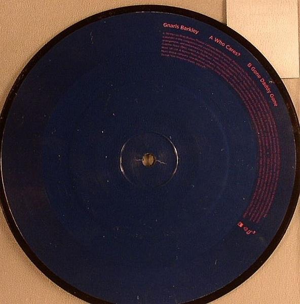 Gnarls Barkley Who Cares Colored Vinyl