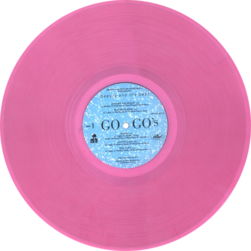 Go Go S Beauty And The Beat Colored Vinyl
