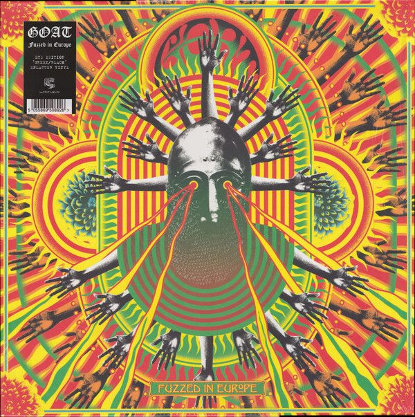 Goat Fuzzed In Europe Colored Vinyl