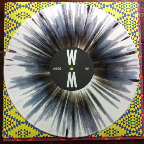 Goat World Music Colored Vinyl