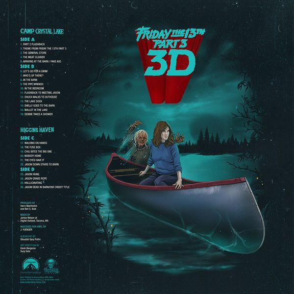 Harry Manfredini - Friday The 13th Part 3