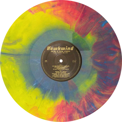 Hawkwind -Victim Of Sonic Attack! (London, December 30th, 1972)