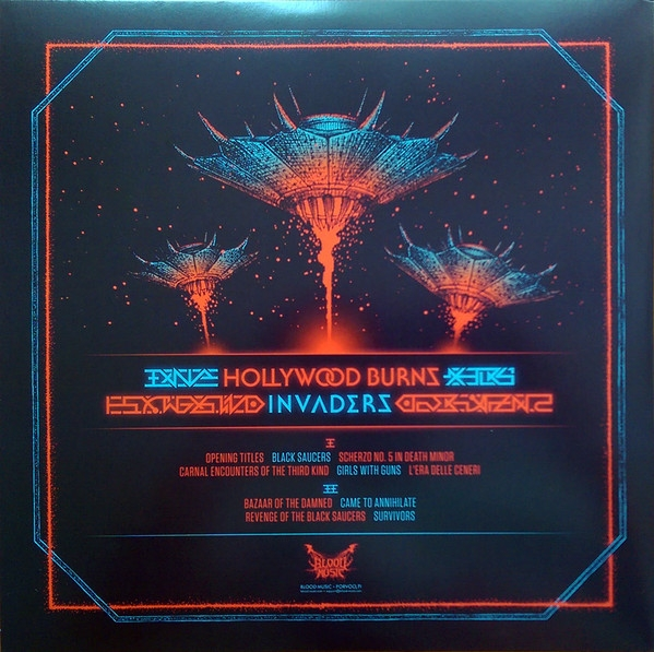 Hollywood Burns Invaders Colored Vinyl