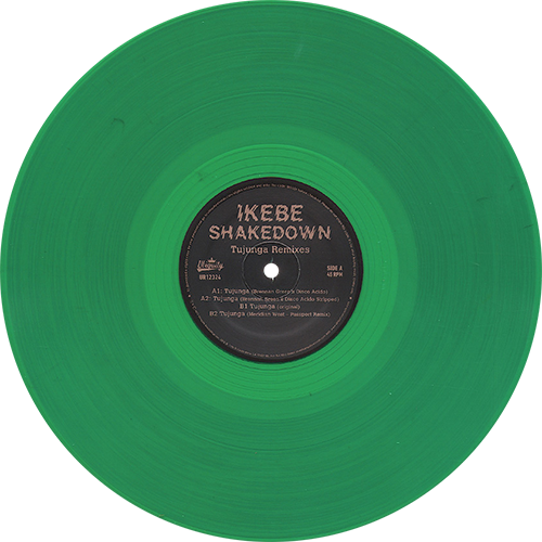 Ikebe Shakedown Tujunga Remixes Colored Vinyl