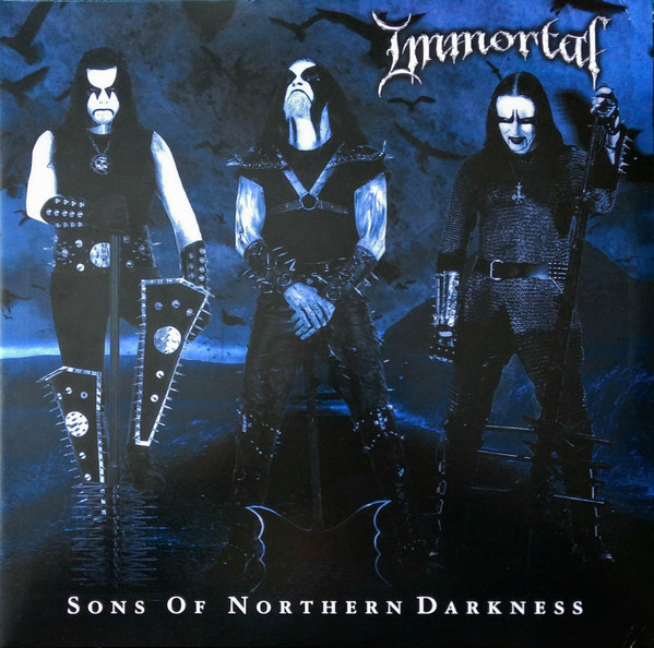 Immortal Sons Of Northern Darkness Colored Vinyl