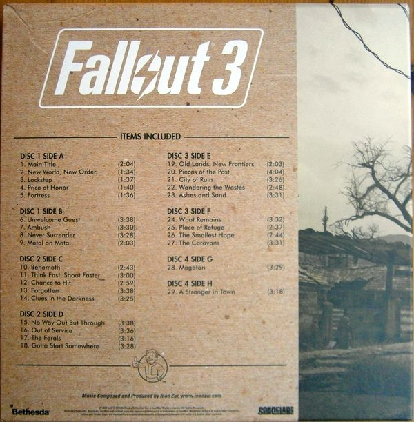 Inon Zur - Fallout 3 (Original Game Soundtrack)