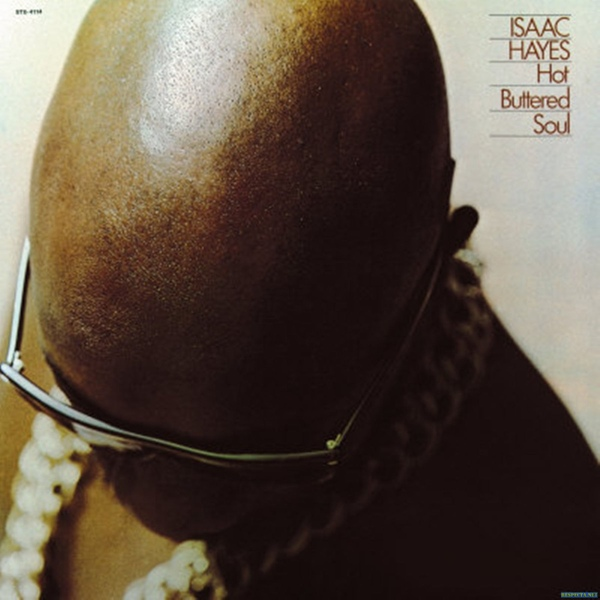 Isaac Hayes Hot Buttered Soul Colored Vinyl
