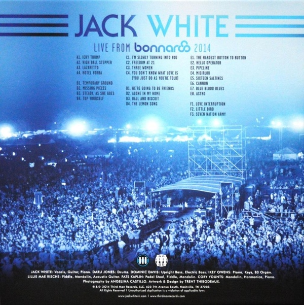 Jack White -Live From Bonnaroo 2014