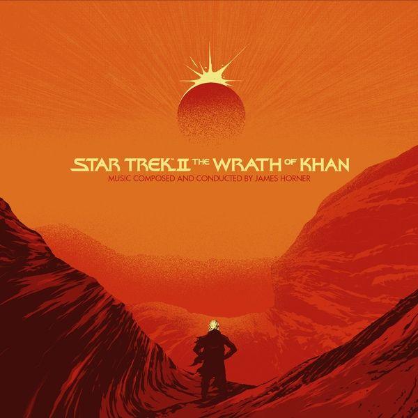 James Horner Star Trek Ii The Wrath Of Khan Colored Vinyl
