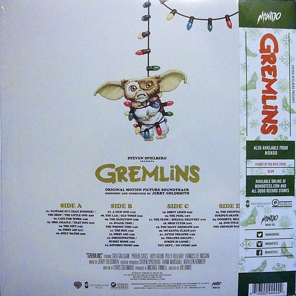Jerry Goldsmith -Gremlins (Original Motion Picture Soundtrack)