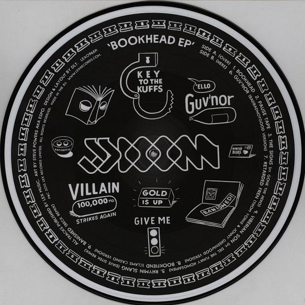 Jj Doom Bookhead Ep Colored Vinyl