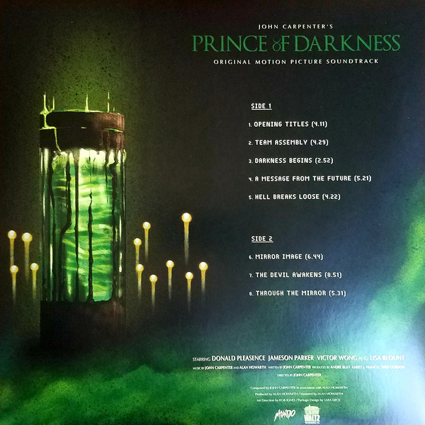 John Carpenter & Alan Howarth - Prince Of Darkness