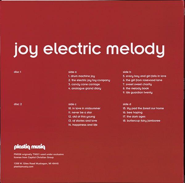 Joy Electric -Melody