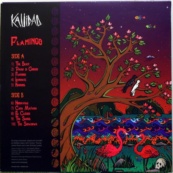 Kallidad Flamingo Colored Vinyl
