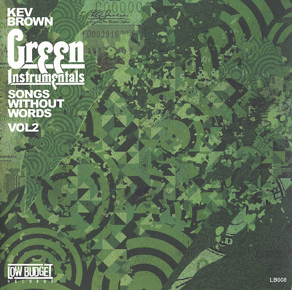 Kev Brown - Songs Without Words Volume 2 (Green Instrumentals)