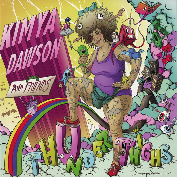 Kimya Dawson Thunder Thighs Colored Vinyl