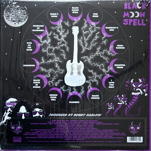 King Tuff Black Moon Spell Colored Vinyl