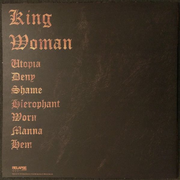 King Woman - Created In The Image Of Suffering