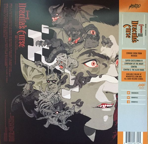Konami Kukeiha Club -Castlevania III: Dracula's Curse - Original Video Game Soundtrack