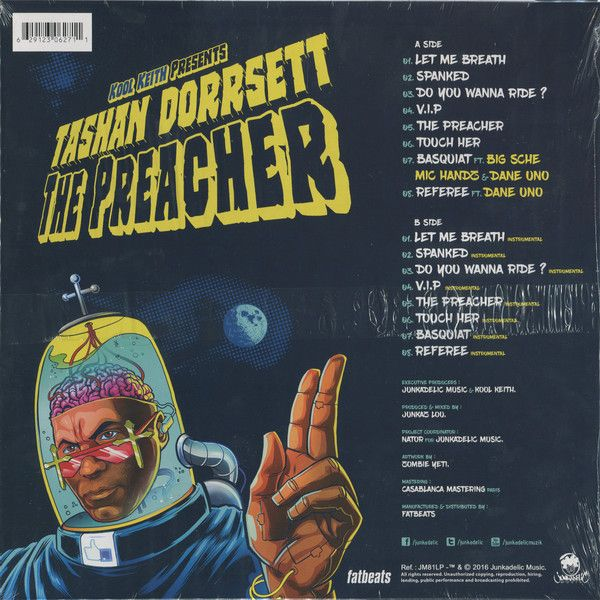Kool Keith & Tashan Dorrsett - The Preacher