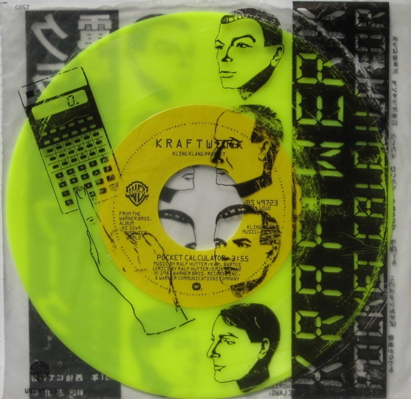 Kraftwerk Pocket Calculator Colored Vinyl