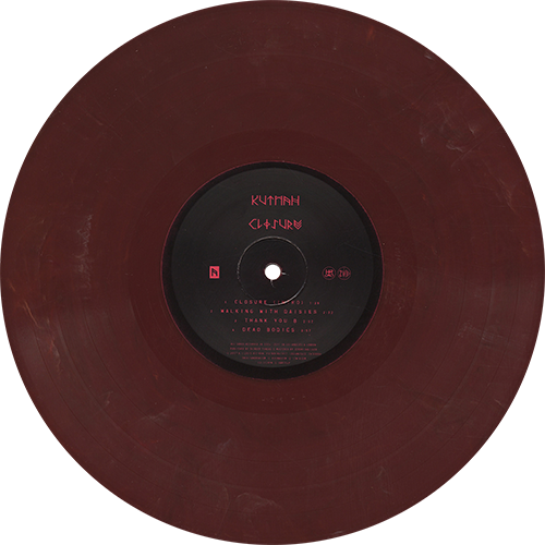 Kutmah Closure Colored Vinyl