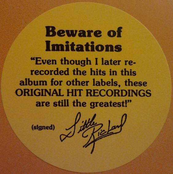 Little Richard -Here's Little Richard