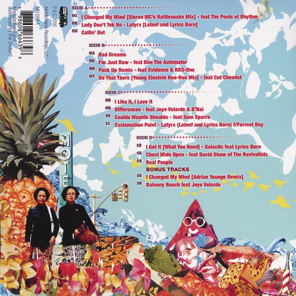 Lyrics Born - Now Look What You've Done, Lyrics Born! Greatest Hits!