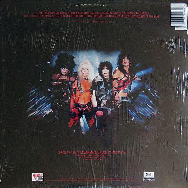 M 246 Tley Cr 252 E Shout At The Devil Colored Vinyl