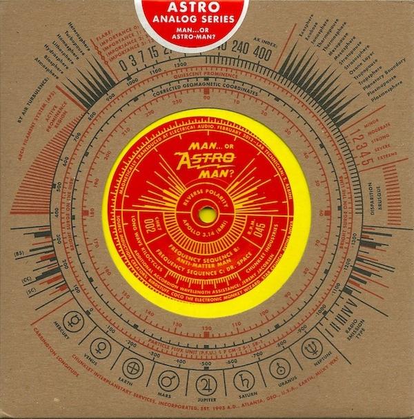 Man Or Astro Man Analog Series Vol 1 Colored Vinyl