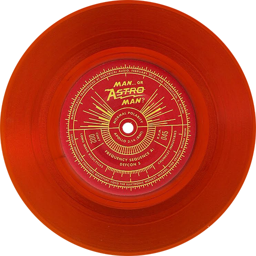 Man Or Astro Man Analog Series Vol 1 Colored Vinyl