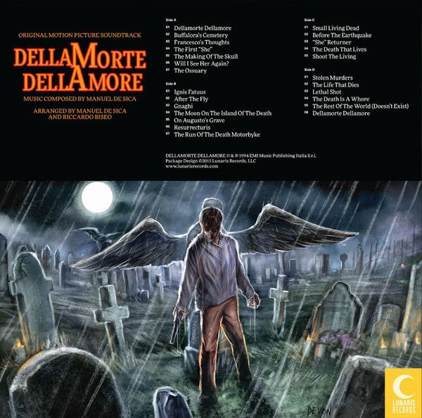Manuel De Sica -Dellamorte Dellamore (Original Motion Picture Soundtrack)