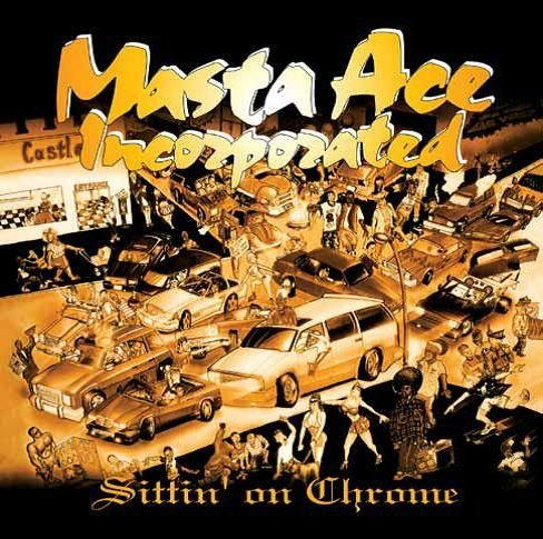 Masta Ace Incorporated Sittin On Chrome Colored Vinyl