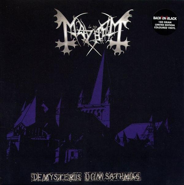 Mayhem De Mysteriis Dom Sathanas Colored Vinyl