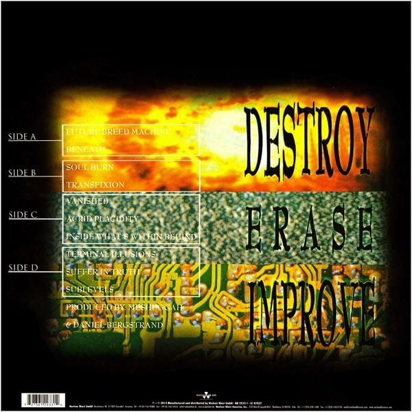 Meshuggah - Destroy Erase Improve