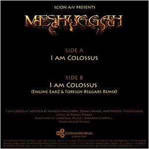 Meshuggah - I Am Colossus
