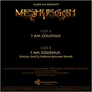 Meshuggah -I Am Colossus