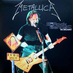 Metallica Eurock 233 Ennes De Belfort 99 Colored Vinyl