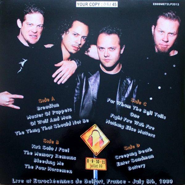 Metallica - Eurockéennes De Belfort '99