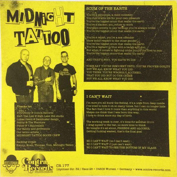 Midnight Tattoo & The Warriors  - Midnight Tattoo / The Warriors