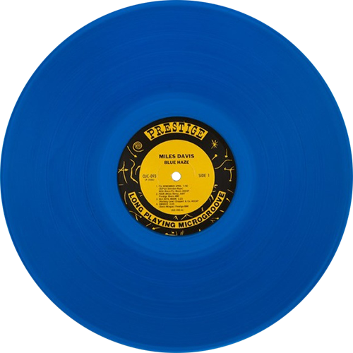 Miles Davis Blue Haze Colored Vinyl